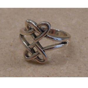 Jewelry - NEW sterling silver  HEART ring SJ925-05 size 7